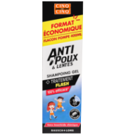 Eco-pompe Anti-poux et lentes